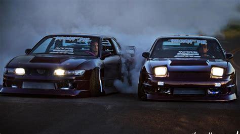 jdm nissan silvia s13 cars drifting nissan 180sx silvia s13 jdm wallpaper 30456