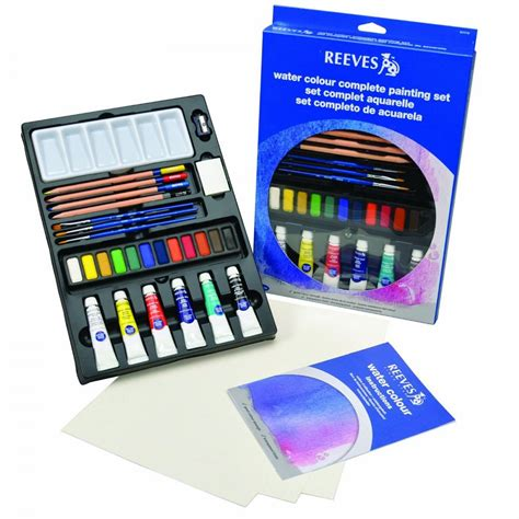 Terlaris Reeves Watercolor Paint Set 24 Pcs water colour complete painting set craftyarts co uk