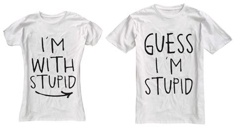 Relationship T Shirts I M With Stupid T Shirts Tshirts