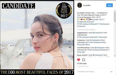 chelsea islan instagram 5 seleb indonesia ini masuk kandidat wanita tercantik di