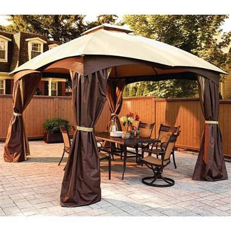 8 X 12 Patio Gazebo Garden Winds Replacement Canopy For Lowe S Dome 10 X 12