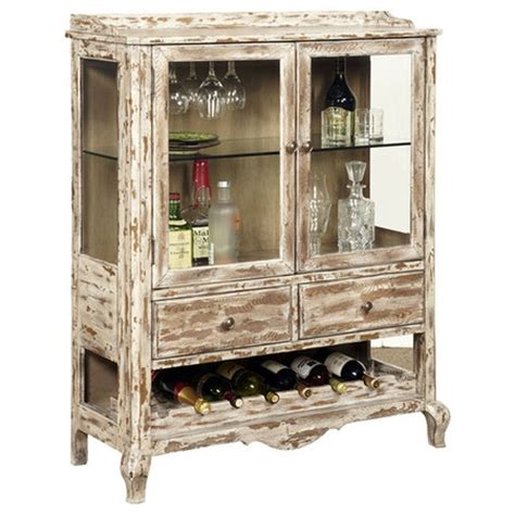 distressed wood wine cabinet wine cabinet in distressed white one day in the future