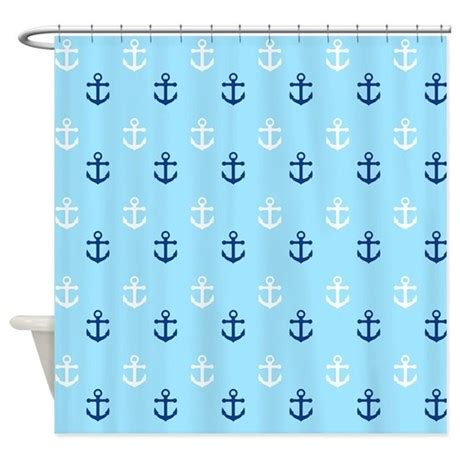 anchors away shower curtain anchors away shower curtain by stircrazy