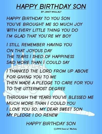 Quotes To My On Birthday Best 20 Son Birthday Quotes Ideas On Pinterest Mothers