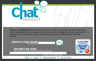 learning chat rooms nik s learning technology make your own chat room