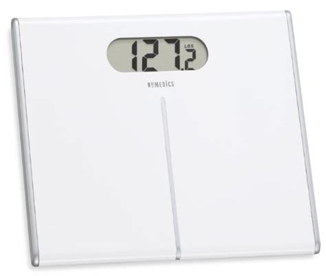 homedics bathroom scale manual homedics lithium digital scale with 1 6 inches display