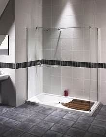 Walk In Shower aqualux aquaspace walk in shower enclosure 1400mm x 800mm
