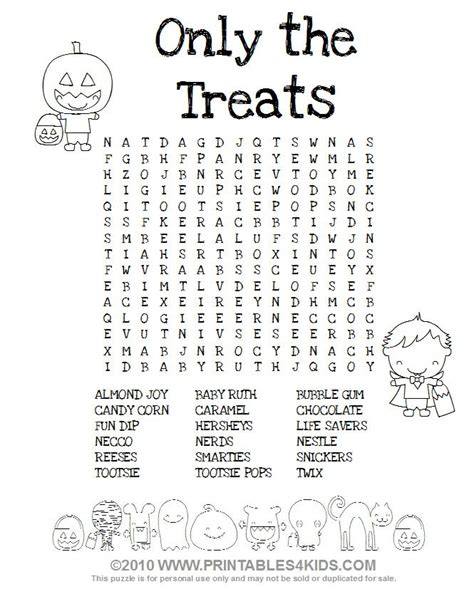 printable zigzag word search puzzles halloween crossword puzzles for middle school halloween