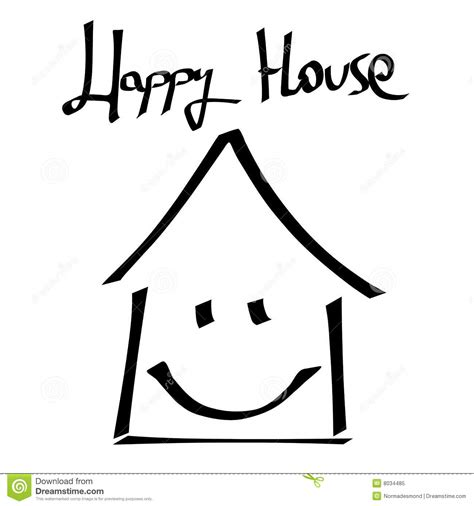 Happy House by Happy House Royalty Free Stock Photo Image 8034485