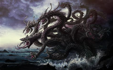 Headed L by Hydra Lernejska Mitologia Wiki
