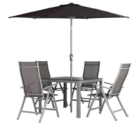 Buy Garden Table And Chairs Buy Collection Malibu 4 Seater Steel Patio Set At Argos Co