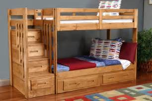 Bunk Bed With Storage Stairs Gardner White Furniture Michigan Furniture Stores