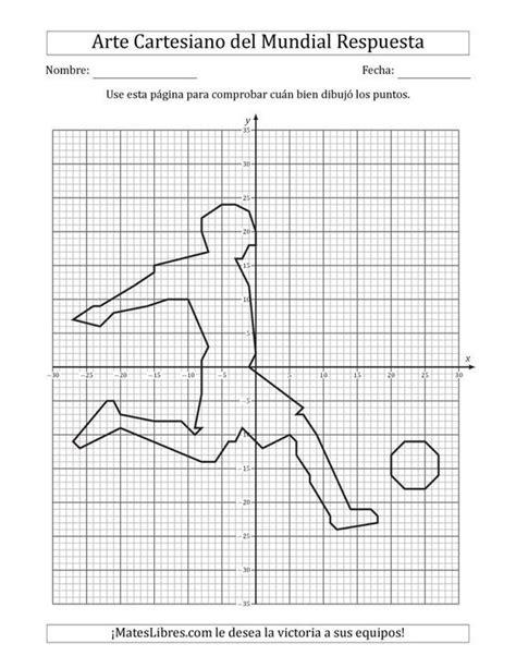 La hoja de ejercicios de Arte Cartesiano de la Copa del