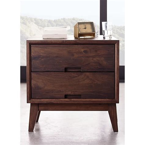 Nightstand Crate And Barrel steppe nightstand crate and barrel stands and nightstands