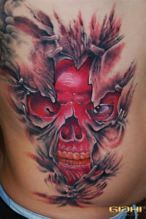 red skull tattoo the gallery for gt skull