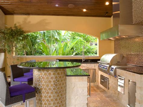 Outdoor Kitchen Countertops Ideas by 13 Outdoor Kitchen Countertop Options Landscaping Ideas