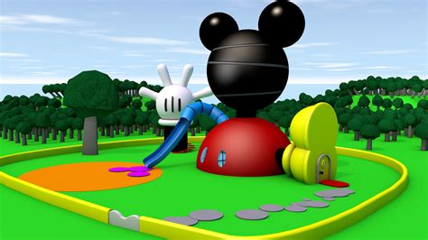 mickey house mickey mouse clubhouse images wallpapers wallpapersafari