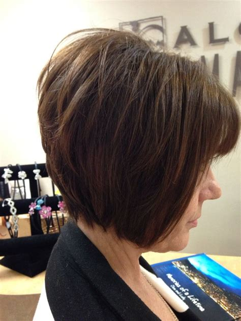 stacked a line haircut stacked a line bob by sarah romero style hair pinterest