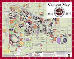 University Of Florida Campus Map by Campus Map Fsu Online Visitor S Guide