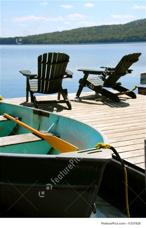 boat dock chairs chairs boat dock photo