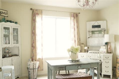 shabby chic studio cleaning organizing and changing white lace cottage