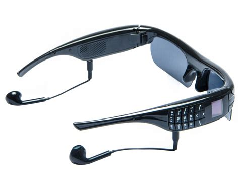 OLED HD Bluetooth Stereo Removable Smart Glasses Phone Outdoor Video Camera MP3   eBay
