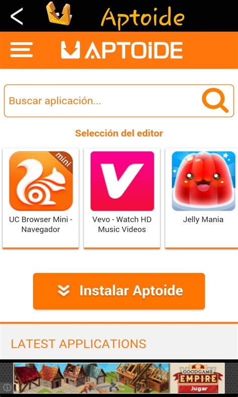 aptoide store app aptoide unofficial for wp free windows phone app market