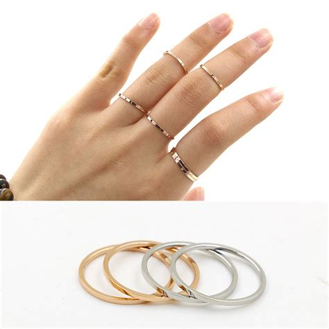 sale simple new design ring thin