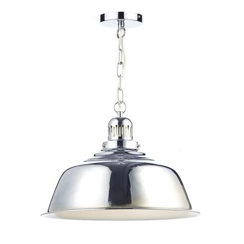 Chrome Pendant Light Retro Style Chrome Metal Ceiling Pendant Light Insulated