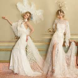 Yolan cris vintage inspired lace wedding dresses as 2010 collection