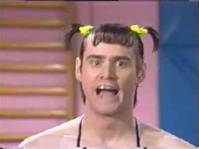 in living color jim carrey as vera de milo in buffed