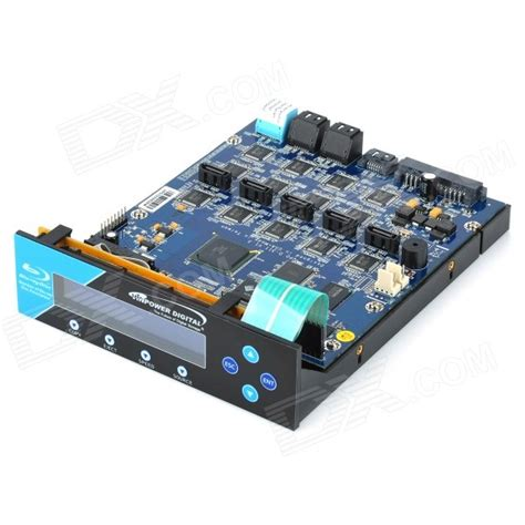 Cddvd Duplicator Vinpower Digital 1 11 Support Hdd Master acard 2 5 lcd 1 to 11 sata to sata bddvd duplicator controller aanbieding kopen lage prijs