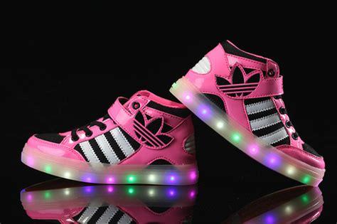 Adidas Light Up Shoes by Adidas Light Up Shoes For Multicolored Led Lighting