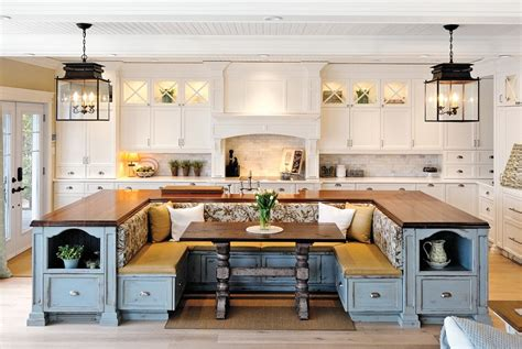 Kitchen Island With Built In Seating 21 Genius Kitchen Designs You Ll Want To Re Create In Your