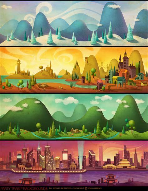 design background games portfolio