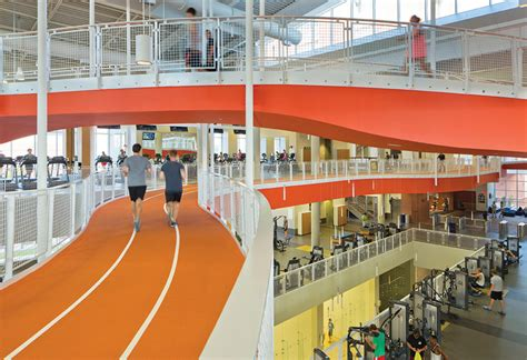 Future Building Designs by Making Tracks A Focal Point Of Recreation Center Design