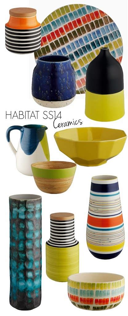 Swoon Worthy Ceramics by Habitat Ss14 Collection Ceramics Sneak Peek Swoon Worthy