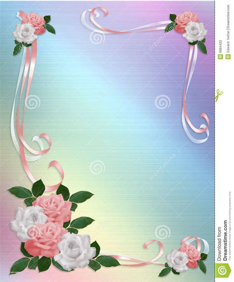 Wedding Background Border by Wedding Invitation Background Designs Free