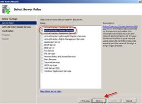 Domain Directory Install Active Directory Domain Services In Pictures