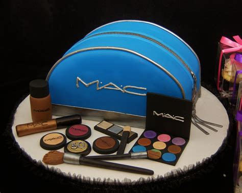 Mac Makeup Bag In Blue by 3d Mac Cosmetic Bag Cake And Make Up Cake In Cup Ny