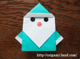 Origami Land - origami how to fold a santa claus 2 origami land