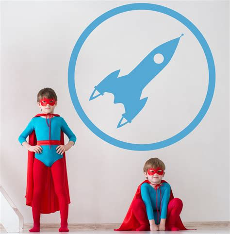 kinderzimmer bild rakete rakete icon bilder motive wandtattoos