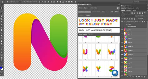typography creator fontself make your own fonts in illustrator or photoshop