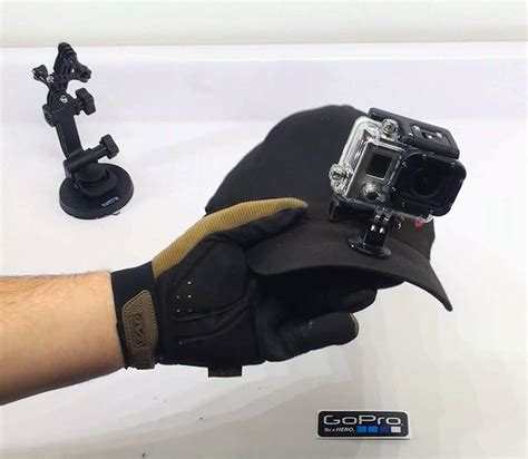 Helm Sepeda Tomount finally the gopro hat mount solution x post as