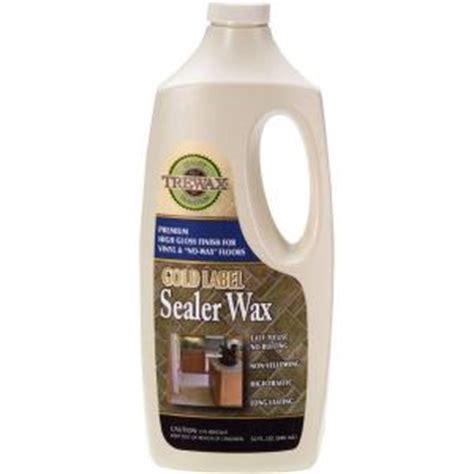 trewax 32 oz gold label sealer wax gloss finish floor