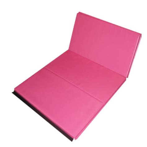 discount the beam store pink 2 inch folding mat 4 x