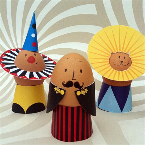 egg decorating make circus egg decorations free printable sewyeah