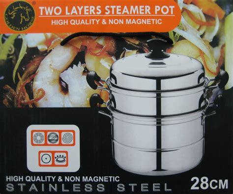 golden steamer pot 28cm jual kukusan somay jual