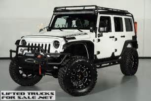 Custom Jeeps For Sale In 2015 Jeep Wrangler Unlimited Kevlar Coated Lifted Custom
