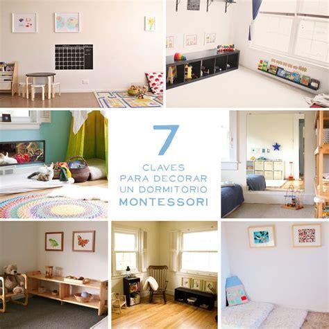 montessori bedroom layout 7 ideas montessori para decorar una habitaci 243 n infantil